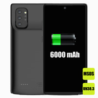 6000mAh Battery Back Battery Case Charger for Samsung Galaxy Note 10 Plus
