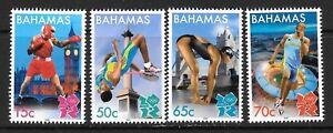 BAHAMAS SG1621/4 2012 OLYMPIC GAMES LONDON MNH