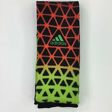 Adidas Metro IV OTC Soccer Socks Black-Solar Red-Solar Green Triangle Print LG
