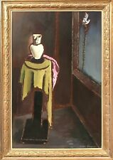 Frances Cranmer Greenman 20th Century Modern Still Life with Dove Oil Painting