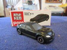 Tomica Taito Prize Half Size P002 Mazda RX-8 BLACK HO Scale 1:87