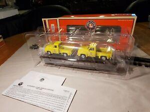 Lionel O 6-17568 Pennsylvania Flatcar W/Diecast Pickups High Quality/Detail  C9