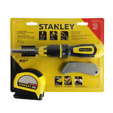 STANLEY 73-969L Knife, Screwdriver and Tape Measure Combo Set (3-Piece)