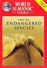 World Almanac Video - Save The Endangered Species (DVD, 2005)