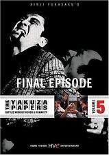 The Yakuza Papers: Vol.5 - Final Episode (DVD) Bunta Sugawara, Jo Shishido NEW