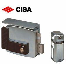Serratura elettrica elettroserratura cancelli CISA 11761 destra entrata mm.60