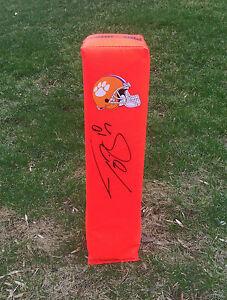 Clemson Tigers #10 TAJH BOYD Signed Autographed Football Pylon COA!