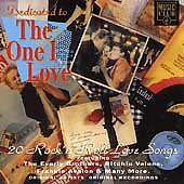 Dedicated To the One I Love, Various, Very Good CD
