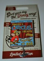Disney Cereal Boxes Timothy's Circus Treats Dumbo Pin Limited Edition