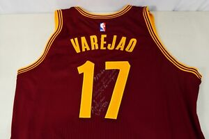 Anderson Varejao Cleveland Cavaliers Game Worn Jersey Autographed Inscribed