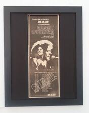 GILBERT O'SULLIVAN*1973*Sell Out Tour*ORIGINAL*POSTER*AD*FRAMED*FAST WORLD SHIP