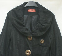 LAGENLOOK ARTSY BALLOON COAT LINED QUIRKY BUTTON UK M BY VS FRANCE