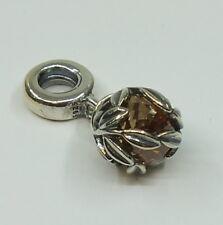 PANDORA Charm goldene Lorbeerblätter Silber 791407CCZ