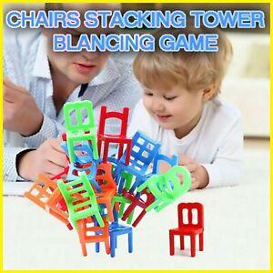 Chairs Stacking Tower Balancing Game (36 Pcs) DIY Toy - Original KIT 50% OFF