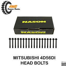 Mitsubishi Triton 4D56DI Head Bolts 4Cyl 2.5 Ltr DOHC
