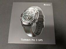 Mobvoi TicWatch Pro 3 with Built-In GPS IP86 Heart Rate Sensor - Black