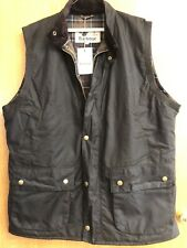 Barbour Westmorland Waistcoat Gilet Vest Olive Green Mens Size XXL New With Tags