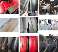 Rinnova Colore Volante Pelle NERO Opaco Ritocco Interni ripristina vernice auto