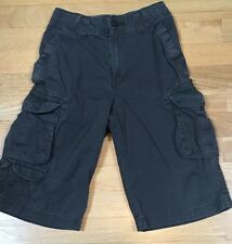 URBAN PIPELINE -  BOYS - Grey/brown CARGO Shorts - SIZE 8S