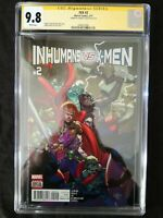 MARVEL COMICS IVX INHUMANS VS X-MEN #2 CGC SS 9.8 SIGNED BY CHARLES SOULE