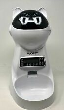 Wopet Automatic Pet Feeder F03 w/ Voice Recorder and Built In Speaker