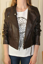 Zip Leather Casual Topshop Coats & Jackets for Women