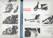 Genuine Honda SA50 Vision Met-in (1988-1995) Factory Work Shop Manual SA 50 AF22