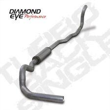 "Diamond Eye K4211A 4"" Turbo-Back Exhaust, Single, Alum, For 89-93 Dodge"
