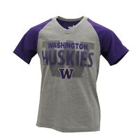Washington Huskies Official NCAA Apparel Kids Youth Girls Size T-Shirt New Tags