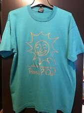 Vintage French Sun Graphic Fuit Of The Loom Tee Made In Usa Free Shipping Xl