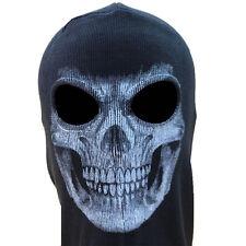 Skeleton Ghost Skull Balaclava Full Face Mask Hood Biker Halloween Call of Duty