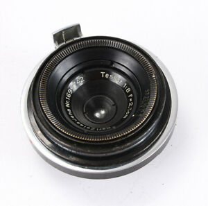2.8CM 28MM 28/8 ZEISS TESSAR FOR CONTAX, BLACK AND CHROME/206180