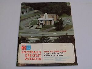 """Football Hall of Fame Game Green Bay Packers OWNED by Earle """"Greasy"""" Neale 1969"""