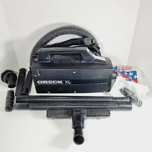 ORECK XL BB870-ED Compact Portable Canister Vacuum with Attachments & Bags