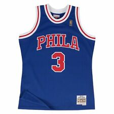 Allen Iverson Philadelphia 76ers Hardwood Classics Throwback Rookie NBA Swingman
