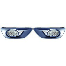 HO2590108 Fits 2001-2002 Honda Accord Coupe Pair of Fog Light w/ Switch+Harness