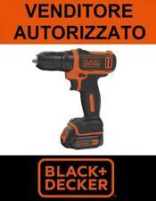 Trapano Avvitatore A BATTERIA BLACK+DECKER 10.8V BDCDD12K-QW