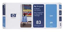 ORIGINALE HP testina di stampa Designjet 5000 5500 5500ps/C4961A 83 / ciano UV