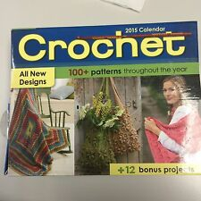 Crochet 2015 Day-to-Day Calendar, English, New, 100+ Patterns