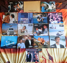 Permis de tuer (licence to kill) – LOBBY CARDS – PHOTOS – 15 photos