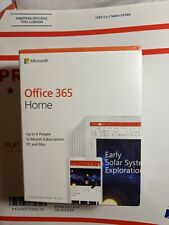 Microsoft Office 365 Home Family 1 Year Sub, 6 Users, Pc/Mac + 1Tb Cloud Each