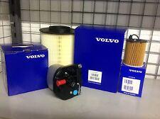 Genuine Volvo V40 1.6d D2 Service Kit Oil Filter Fuel Filter Air Filter