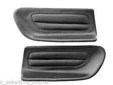 92-96 Prelude VTEC OEM JDM Black Leather Rear Panel Garnish Inserts H22A BB1 BB4