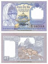 Nepal 1 Rupee 1991  P-37 Banknotes UNC