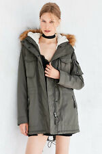 URBAN OUTFITTERS $239 S13 NYC SHERPA LINED FIELD PARKA JACKET SZ S SMALL