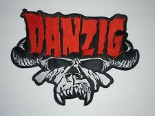 DANZIG EMBROIDERED BACK PATCH