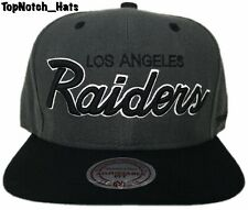Los Angeles Raiders Mitchelle & Ness Adjustable Fit Brand New Ships Now !!! #2