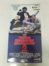 THE TEXAS CHAINSAW MASSACRE PART 2- BETA Complete 1986 Media Cannon