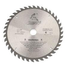 9 inch 40 Teeth Carbide Alloy Circular Saw Blade Disc For Cutting Wood 230mm