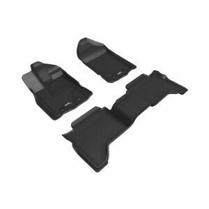3D MAXpider L1FR12201509 Floor Mat Liner Black Kagu For 2019-20 Ford Ranger NEW